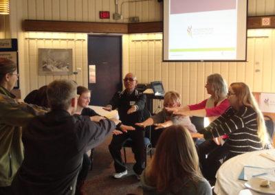 Schizophrenia Ontario engaged 2,775 people across Ontario through education and training.