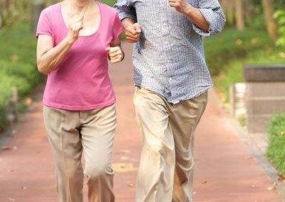 Physical activity can reduce your risk of Alzheimer's disease by 40%.