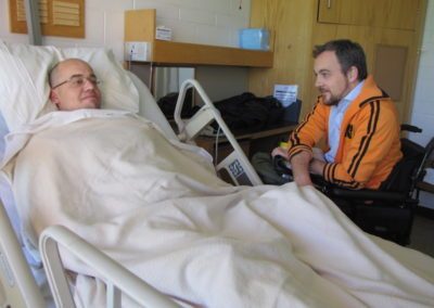 There are 33,000 people living with spinal cord injuries in Ontario, and today another person will sustain an injury.