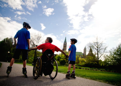 Although sustaining a spinal cord injury is one of the most traumatic events that can happen in a person's lifetime, people can, and do, make a positive adjustment to life with an injury given the right supports at the right time.