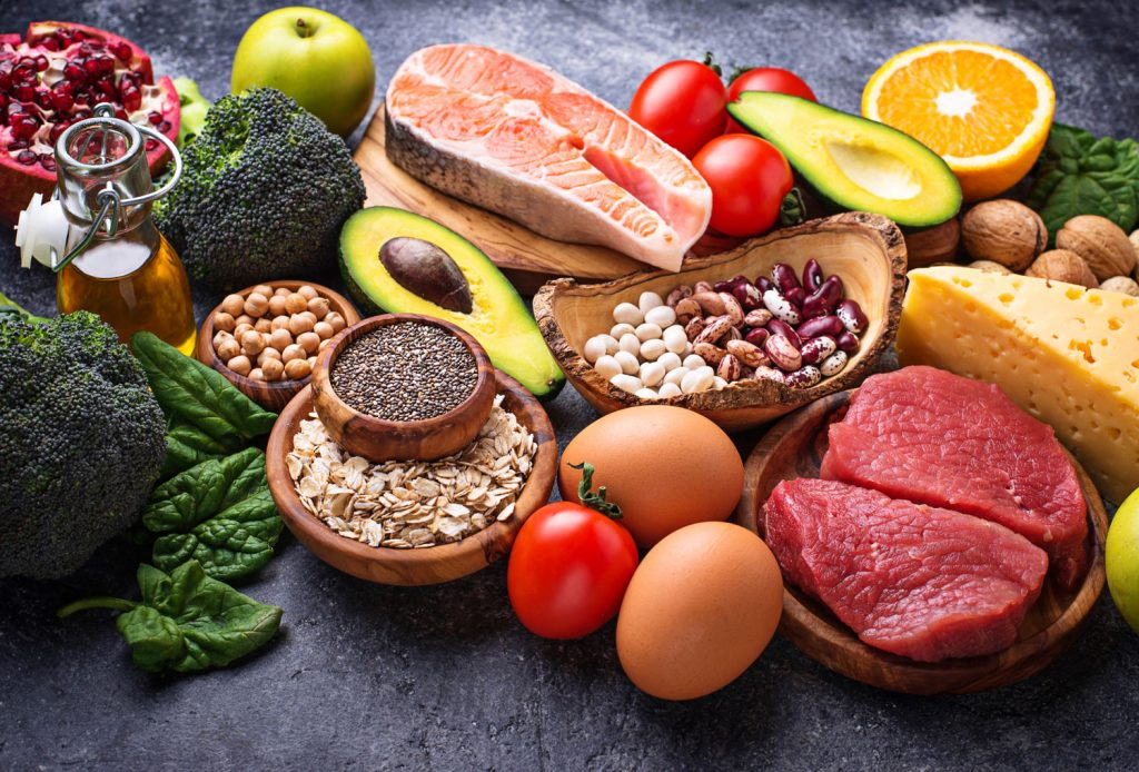 image of aliments for a healthy liver